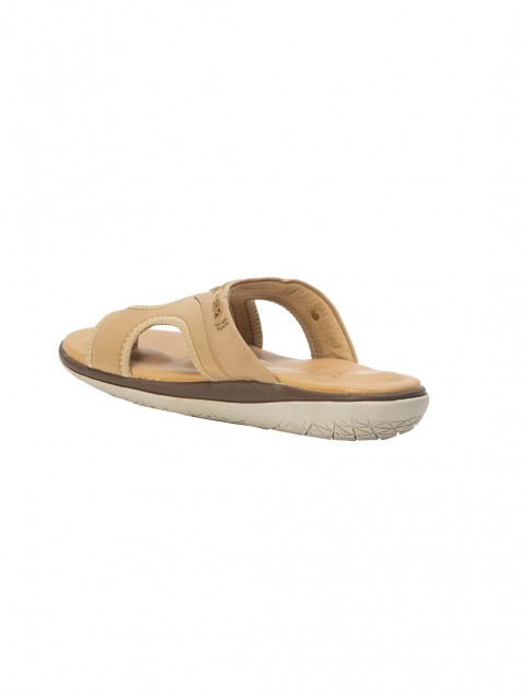 Buy VON WELLX GERMANY COMFORT HALE BEIGE SLIPPERS In Delhi