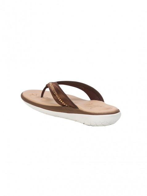 Buy Von Wellx Molly Comfort Brown Slipper Online in Doha