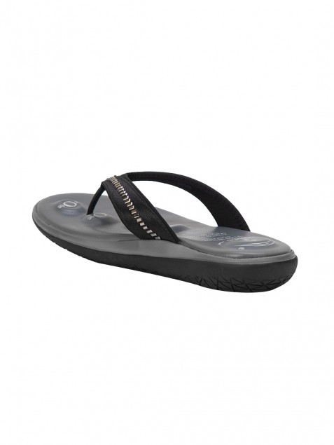 Buy Von Wellx Molly Comfort Black Slipper Online in Ghaziabad