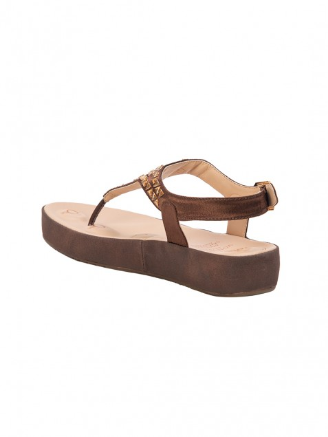 Buy Von Wellx Haven Comfort Brown Sandal Online in Sri Lanka