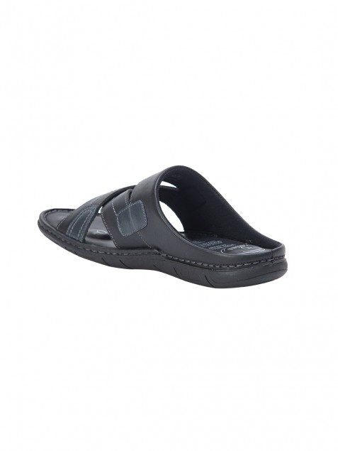 Buy Von Wellx Germany Comfort Rove Black Slippers Online in Ahmedabad