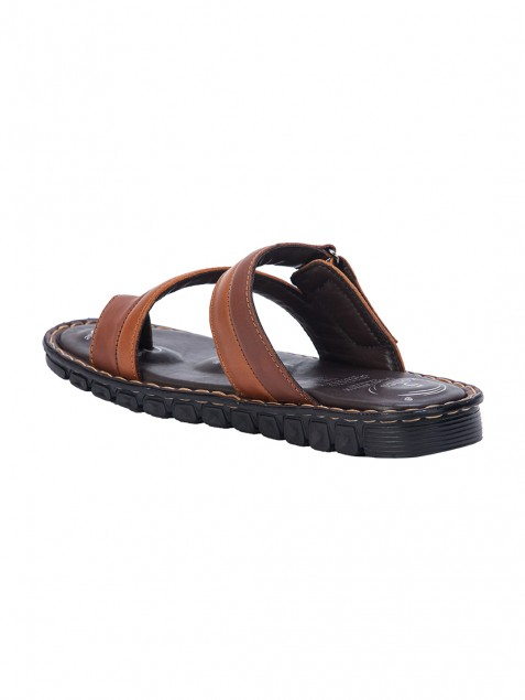 Buy Von Wellx Germany Comfort Jaunt Brown Slippers Online in Kandy