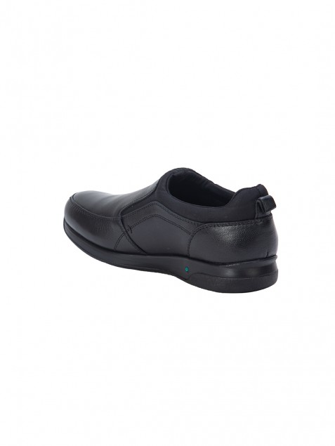 Buy VON WELLX GERMANY COMFORT JASON BLACK SHOES In Delhi