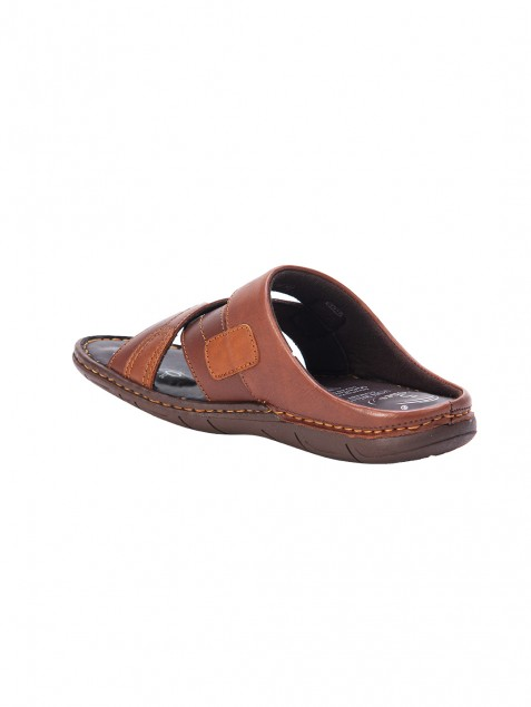 Buy Von Wellx Germany Comfort Rove Brown Slippers Online in Pune
