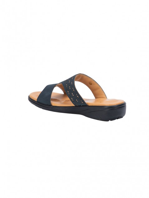 Buy Von Wellx Thea Comfort Blue Slippers Online in Doha