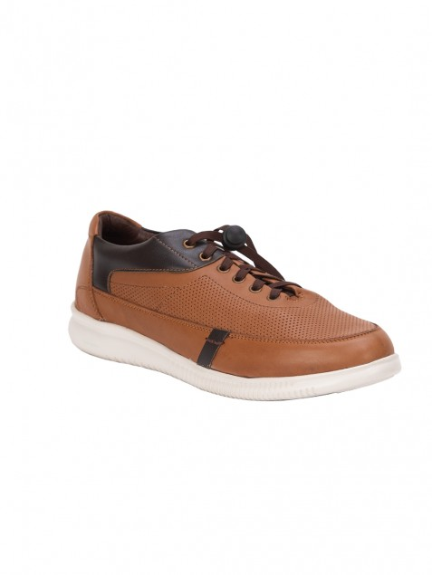 Buy Von Wellx Germany Comfort Tan Tyler Shoes Online in Navi Mumbai