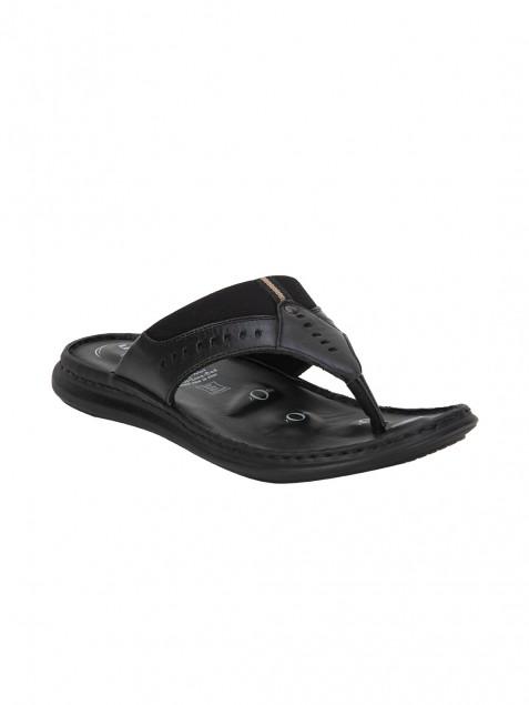 Buy Von Wellx Germany Comfort Black Zayden Slippers Online in Ranchi
