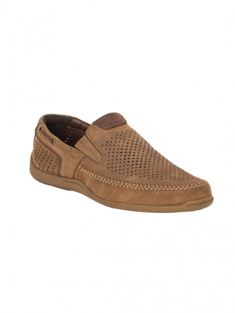 Buy Von Wellx Germany Comfort Chikoo Ian Shoes Online in Riyadh