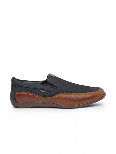 Buy Von Wellx Germany Comfort Men's Blue Slipon Jackson Online in Nashik