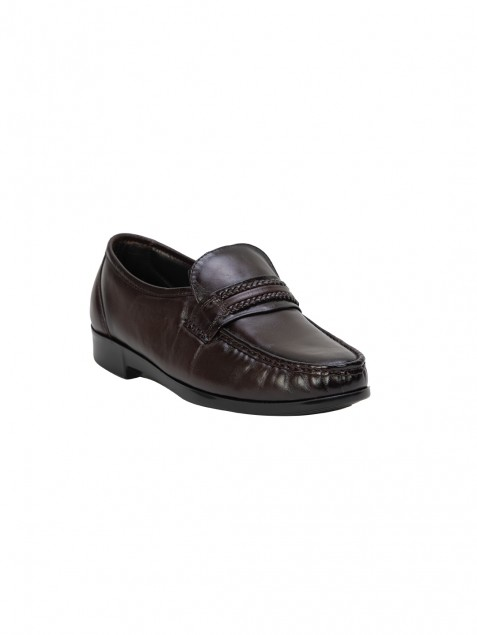 Buy Von Wellx Germany Comfort Brown Gavin Shoes Online in Riyadh