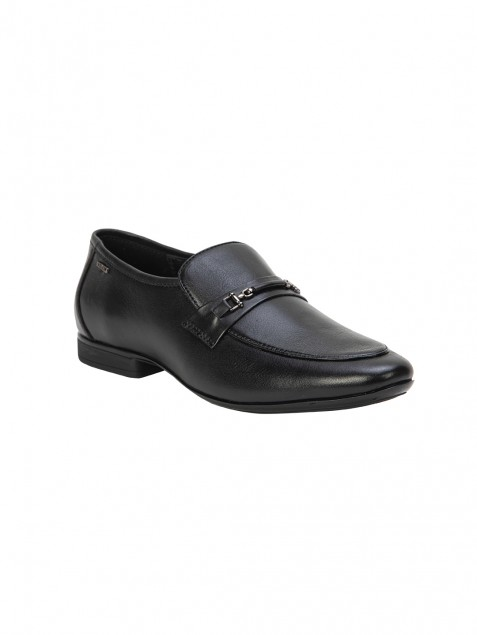 Buy Von Wellx Germany Comfort Black Glib Shoes Online in Rajkot
