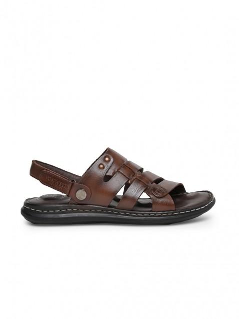 Buy Von Wellx Germany Comfort Men's Brown Sandal Callan Online in Rajkot