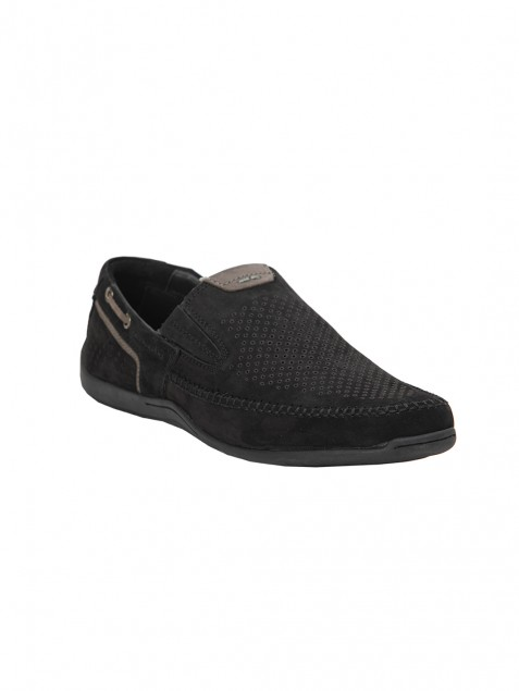 Buy Von Wellx Germany Comfort Black Ian Shoes Online in Riyadh