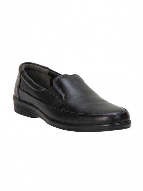 Buy Von Wellx Germany Comfort Black Meyer Shoes Online in Navi Mumbai