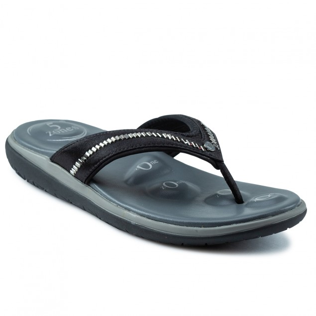 Buy Von Wellx Molly Comfort Black Slipper Online in Indore