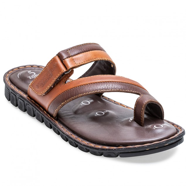 Buy Von Wellx Germany Comfort Jaunt Brown Slippers Online in Bangalore