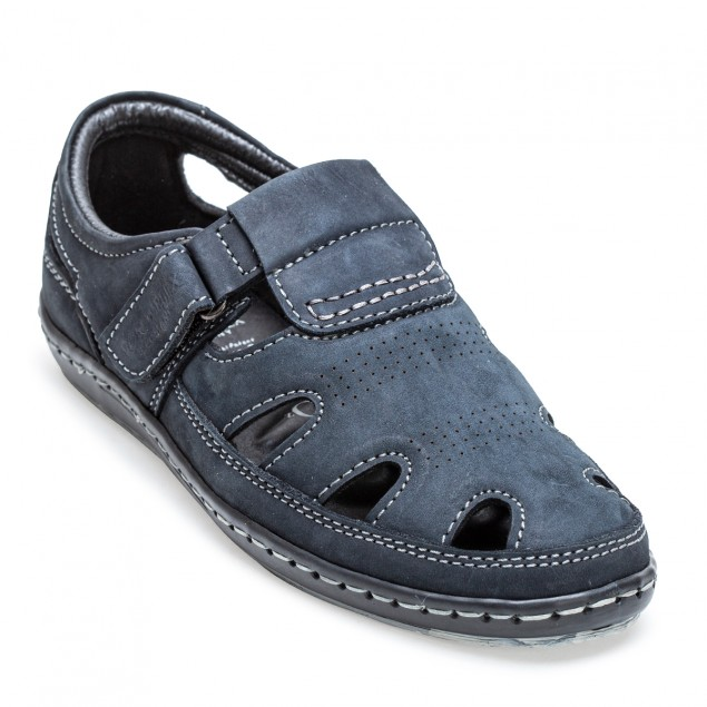 Buy Von Wellx Germany Comfort Tread Blue Sandals Online in Maharashtra