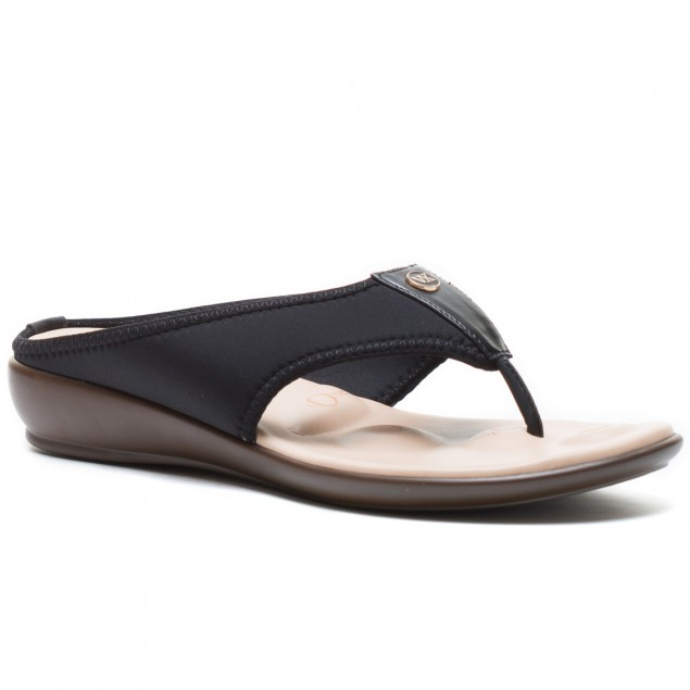 Buy Von Wellx Joanna Comfort Black Slippers Online in Ahmedabad
