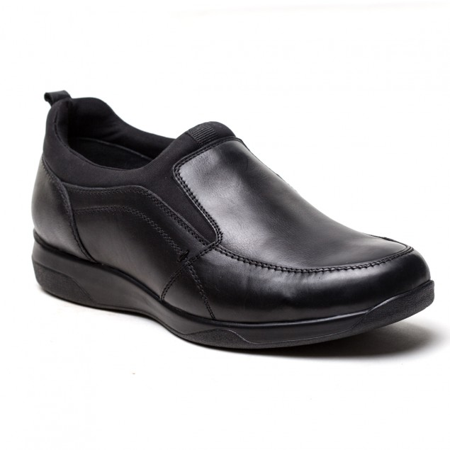 Buy Von Wellx Germany Comfort Jason Black Shoes Online in Oman