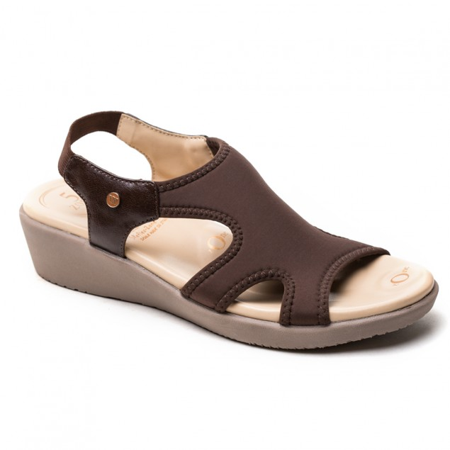 Buy VON WELLX GERMANY COMFORT BROWN SHIRLEY SANDALS In Delhi
