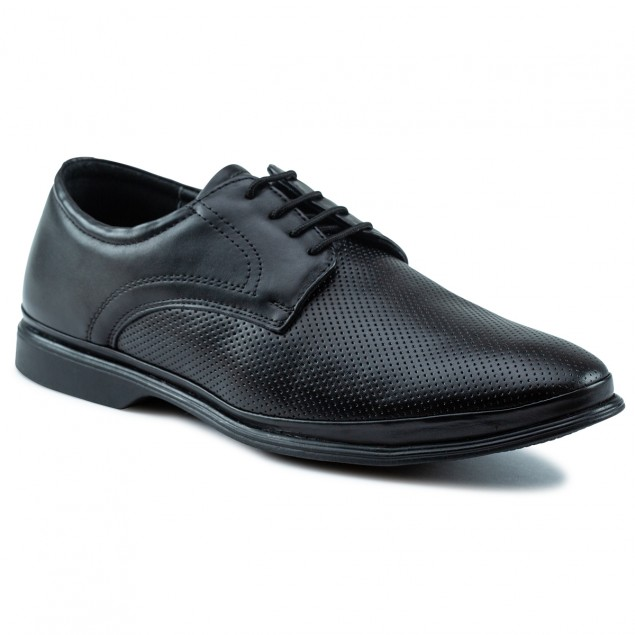 Buy Von Wellx Germany Comfort Coen Black Shoes Online in Rajkot