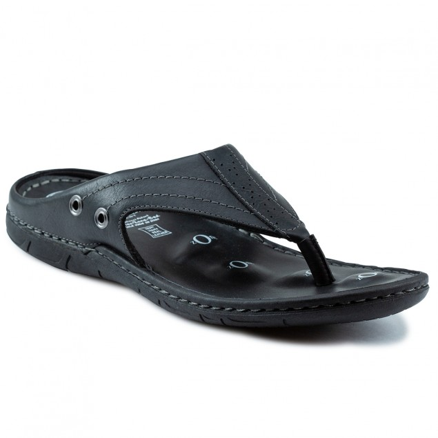 Buy Von Wellx Alex Comfort Black Slippers Online in Srinagar