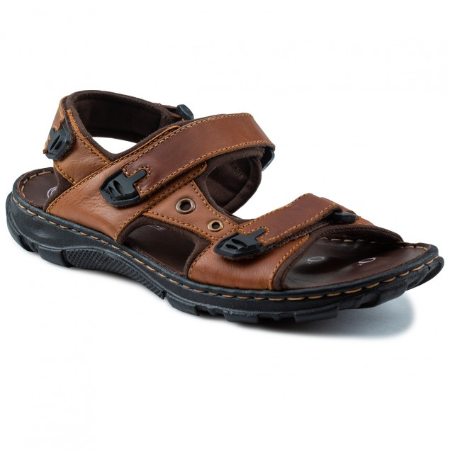 Buy Von Wellx Kozan Comfort Tan Sandals Online in Bangalore