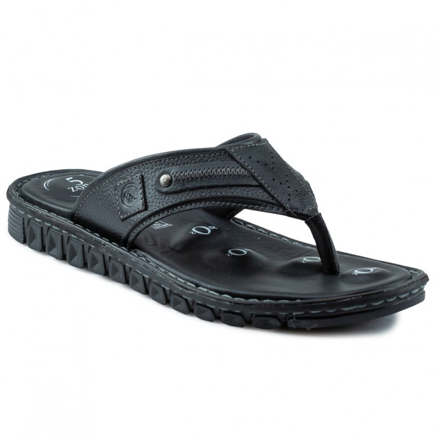 Buy Von Wellx Elmer Comfort Black Slippers Online in Mumbai